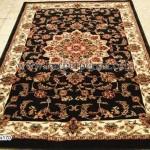 karpet klasik hitam 120x170-RM 6