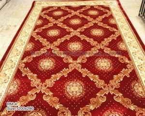 karpet klasik red 200x200-RM-4