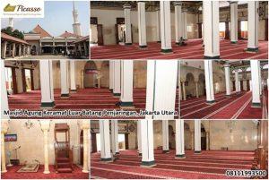 Karpet sajadah minimalis - masjid kramat luar batang