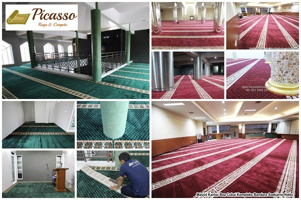 karpet masjid, picasso carpet, karpet masjid minimalis