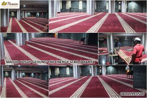 karpet sajadah import terbaik - masjid yusuf the energy SCBD jakarta