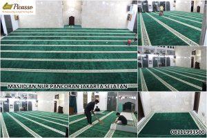 karpet sajadah minimalis - masjid an nur pancoran jakarta selatan