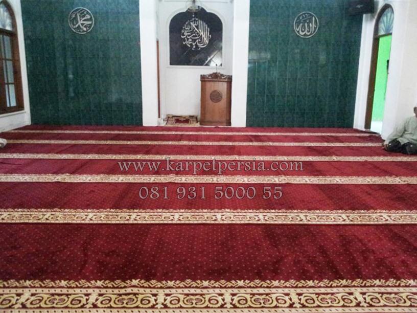 distributor karpet masjid Bangka