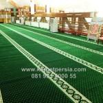 Karpet Masjid Turkey Premium Green Import Turki