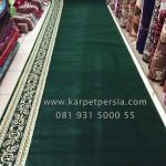 Karpet-Sajadah-Turkey-Green-Premium-Polos-A