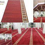 Karpet masjid, karpet masjid murah, karpet sajadah roll, karpet masjid minimalis