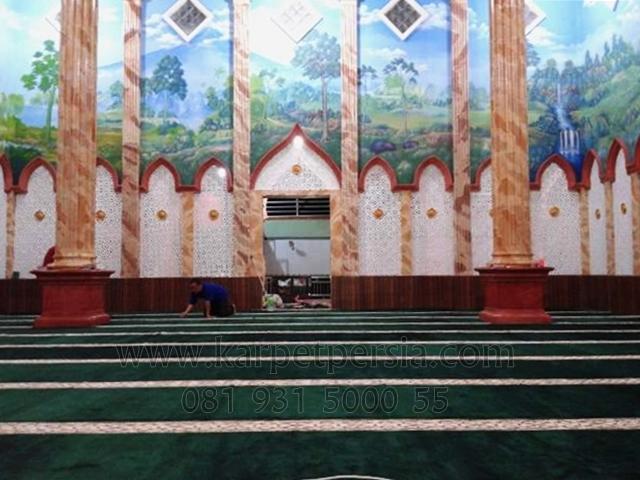 Karpet Sajadah Masjid Al-Munawwar, Bangka-Belitung