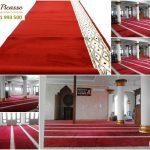 Karpet Masjid murah, Karpet sajadah online, karpet sajadah minimalis merah, picasso carpet, karpet persia
