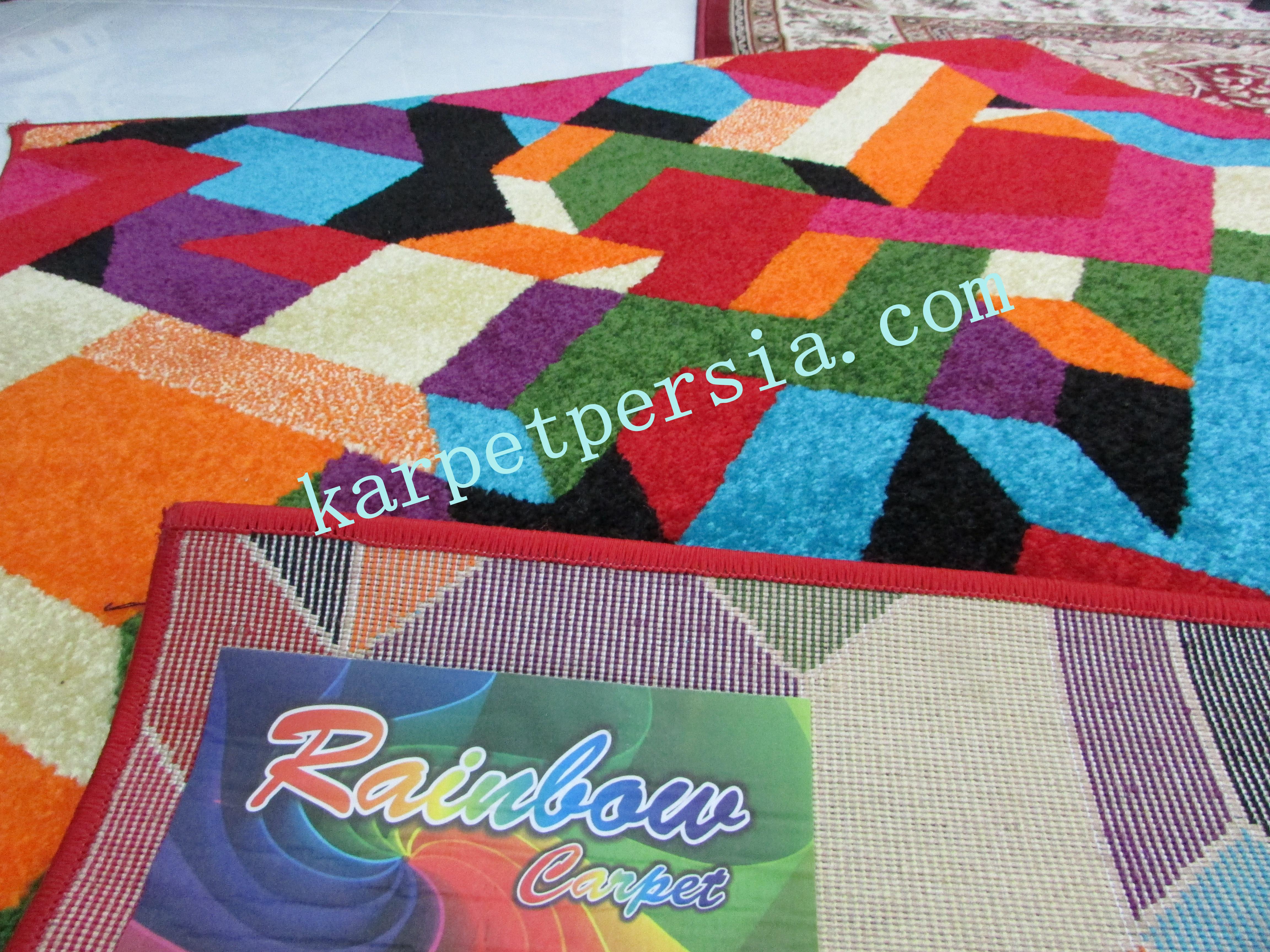 Mengapa Hanya Satu Warna Jika Bisa Banyak Warna? Pesan Karpet Pelangi Sekarang Juga!