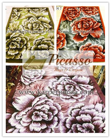 Hadirkan Kesan Nyata di Rumah anda dengan Karpet 3 Dimensi Picasso Rugs and Carpets