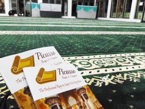 Picasso Rugs and Carpets Siap Melayani Karpet Masjid Warga Bengkulu