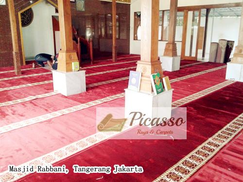 masjid rabbani tangerang.