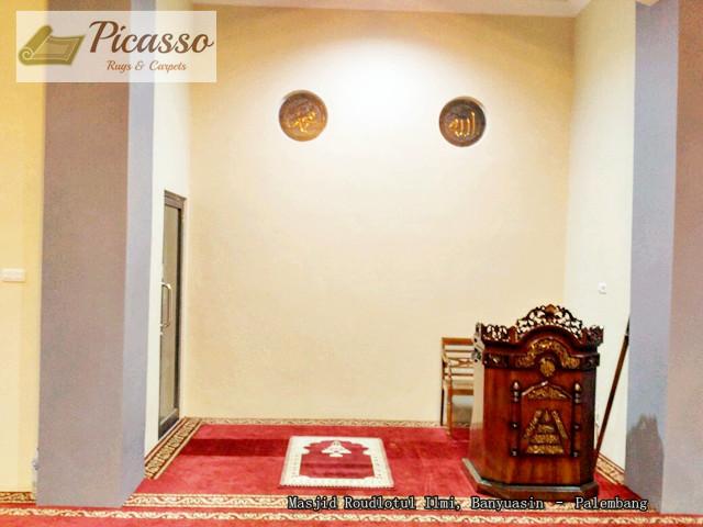 di Masjid Roudlotul Ilmi, Banyuasin – Palembang..