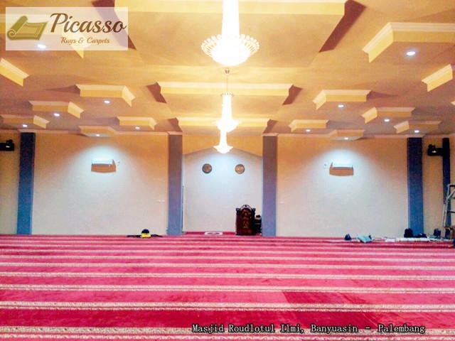 di Masjid Roudlotul Ilmi, Banyuasin – Palembang.
