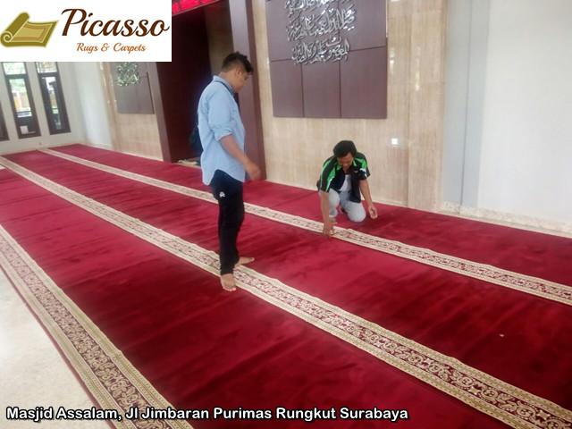 Masjid Assalam, Jl Jimbaran Purimas Rungkut Surabaya.