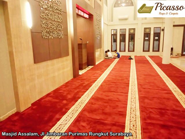 Masjid Assalam, Jl Jimbaran Purimas Rungkut Surabaya