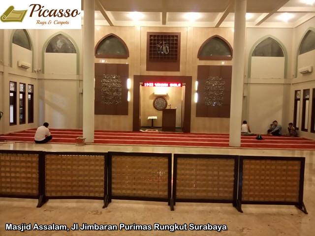 Masjid Assalam, Jl Jimbaran Purimas Rungkut Surabaya2