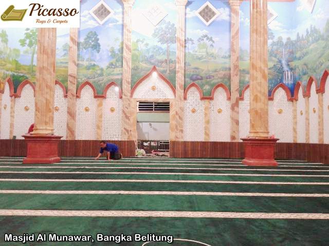 masjid al munawar bangka belitung