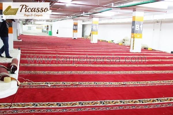 Alhamdulillah, Sajadah Picasso Rugs and Carpets Berhasil Terbentang di Plasa Oleos – Jakarta