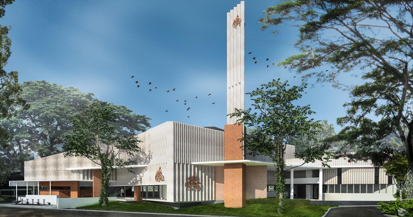 Masjid Al Aqsha Permata, Bintaro Jakarta Selatan