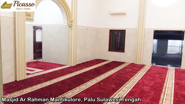Masjid Ar Rahman Mantikulore, Palu Sulawesi Tengah5