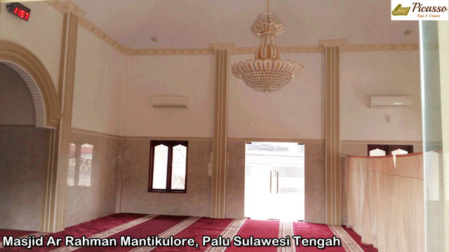 Masjid Ar Rahman Mantikulore, Palu Sulawesi Tengah8