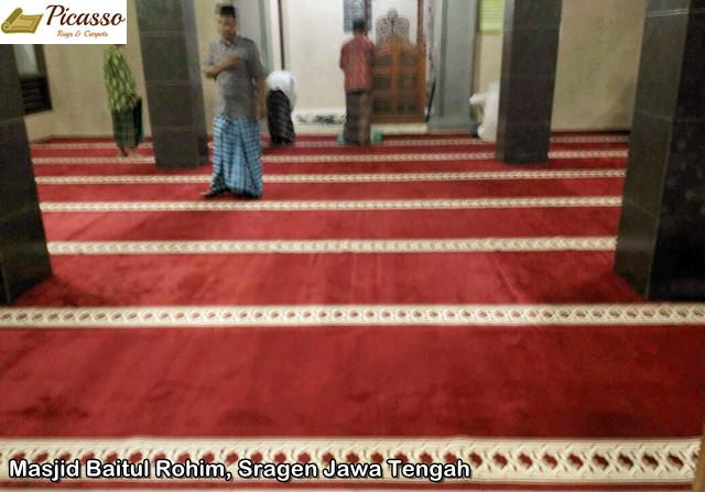 Masjid Baitul Rohim, Sragen Jawa Tengah