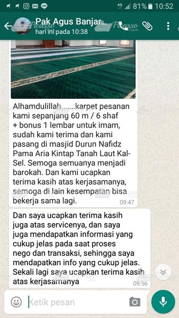 Masjid Durun Nafidz Pamaria, Kintap Tanah Laut Kalimantan Selatan