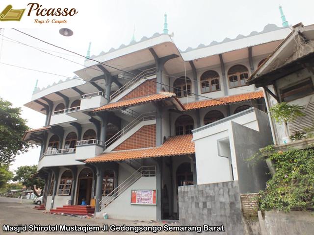 Masjid Shirotol Mustaqiem Jl Gedongsongo Semarang Barat1