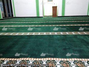 Masjid Miftahul Huda Polres Ngawi