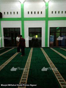 Masjid Miftahul Huda Polres Ngawi5