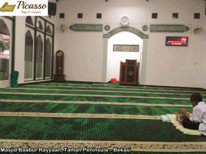 Masjid Baabur Rayyaan, Taman Peninsula – Bekasi2