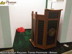 Masjid Baabur Rayyaan, Taman Peninsula – Bekasi3