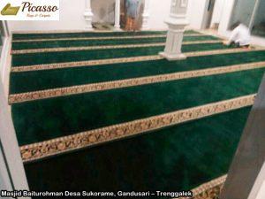 Masjid Baiturohman Desa Sukorame, Gandusari – Trenggalek1