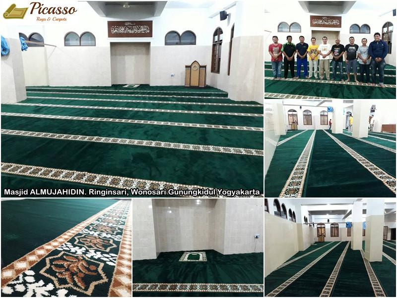 Masjid ALMUJAHIDIN. Ringinsari, Wonosari Gunungkidul Yogyakarta