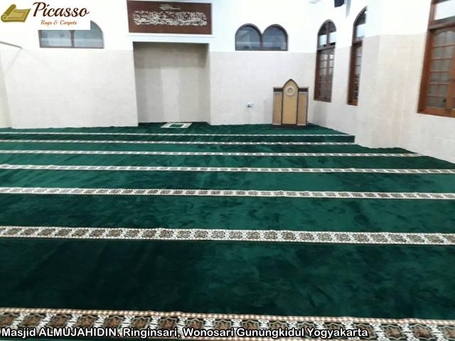 Masjid ALMUJAHIDIN. Ringinsari, Wonosari Gunungkidul Yogyakarta1