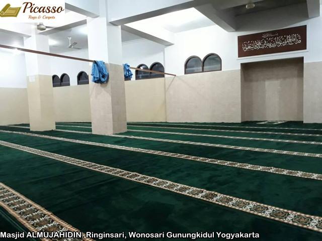 Masjid ALMUJAHIDIN. Ringinsari, Wonosari Gunungkidul Yogyakarta3