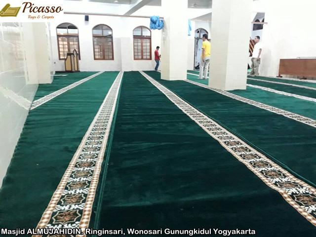 Masjid ALMUJAHIDIN. Ringinsari, Wonosari Gunungkidul Yogyakarta5