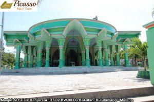 Masjid Al Falah  Banjarsari RT 02 RW 08 Ds Bakalan, Bululawang - Malang2