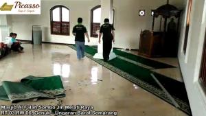 Masjid Al Falah Sombo, Jln Melati Raya RT 03 RW 06, Genuk – Ungaran Barat