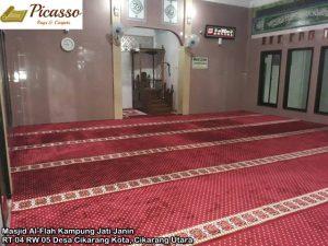 Masjid Al-Flah Kampung Jati Janin RT 04 RW 05 Desa Cikarang Kota, Cikarang Utara1
