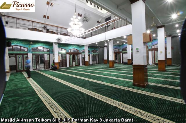 Masjid Al-Ihsan Telkom Slipi Jl S Parman Kav 8 Jakarta Barat