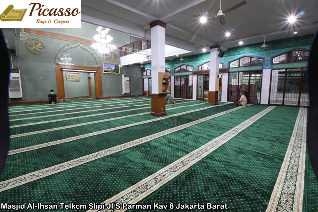 Masjid Al-Ihsan Telkom Slipi Jl S Parman Kav 8 Jakarta Barat3