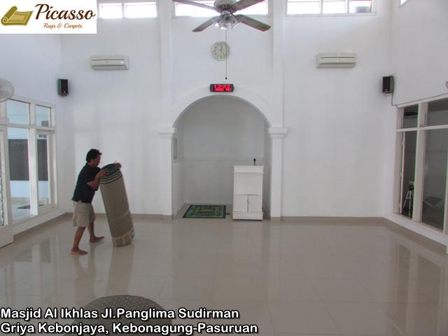 Masjid Al Ikhlas Jl.Panglima Sudirman Griya Kebonjaya, Kebonagung-Pasuruan2