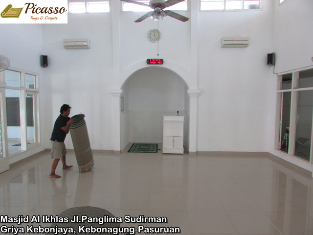Masjid Al Ikhlas Jl.Panglima Sudirman Griya Kebonjaya, Kebonagung-Pasuruan3