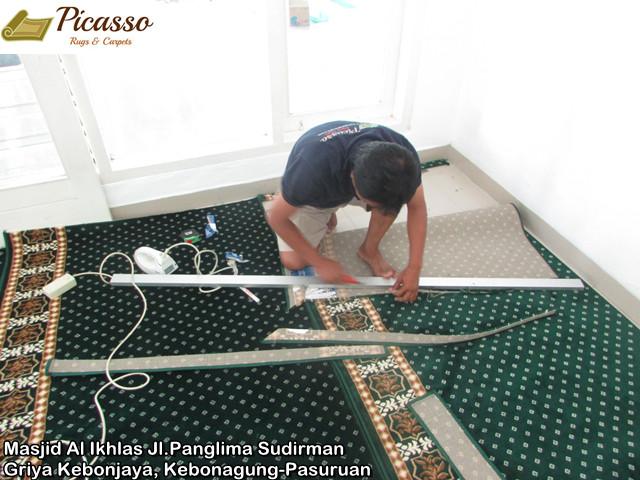 Masjid Al Ikhlas Jl.Panglima Sudirman Griya Kebonjaya, Kebonagung-Pasuruan4
