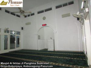 Masjid Al Ikhlas Jl.Panglima Sudirman Griya Kebonjaya, Kebonagung-Pasuruan6