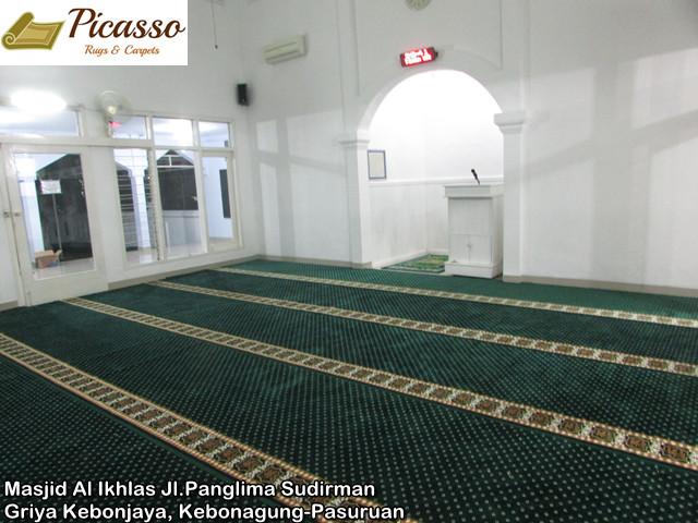 Masjid Al Ikhlas Jl.Panglima Sudirman Griya Kebonjaya, Kebonagung-Pasuruan7