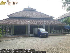 Masjid Al-Iman, Perumahan Dukuh Zamrud Blok S-7 No 06 Kota Legenda, Mustikajaya Bekasi Timur