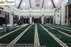 Masjid Al-Iman, Perumahan Dukuh Zamrud Blok S-7 No 06 Kota Legenda, Mustikajaya Bekasi Timur2